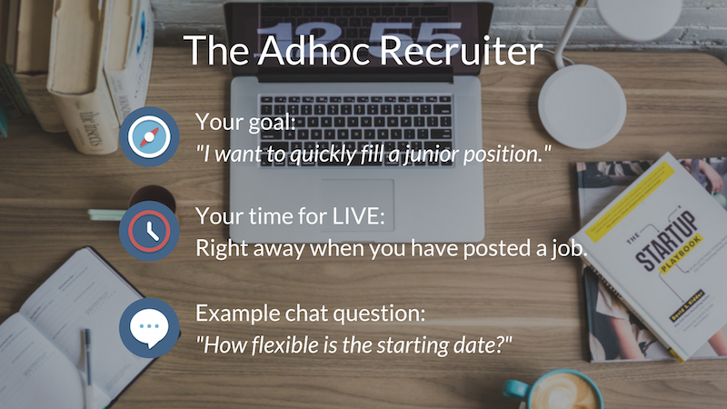 The Adhoc Recruiter